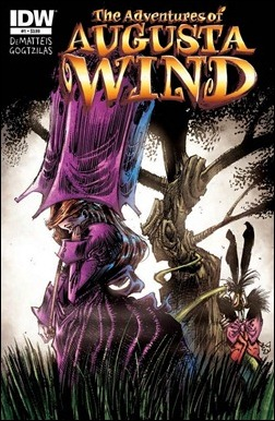 The Adventures of Augusta Wind #1 Cover
