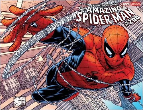 AMAZING SPIDER-MAN #700 QUESADA VARIANT
