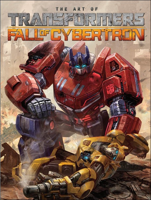 Transformers: Art of Fall of Cybertron Cover