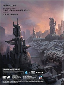 Transformers: Art of Fall of Cybertron Preview 1