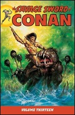 THE SAVAGE SWORD OF CONAN VOLUME 13 TP