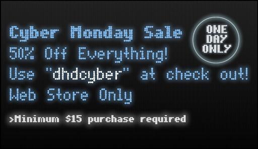 Dark Horse Digital Cyber Monday Sale!