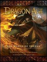 DRAGON AGE: THE WORLD OF THEDAS VOLUME 1 HC