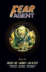 FEAR AGENT LIBRARY EDITION VOLUME 2 HC
