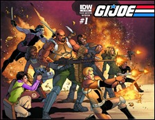 G.I. JOE #1 Jamal Igle Cover