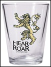 Game of Thrones Shot Glass: Lannister Sigil