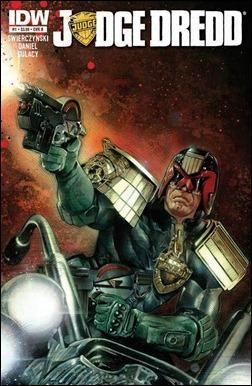 Judge Dredd #1 Cover