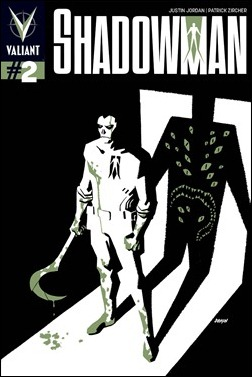 Shadowman #2 Cover - Dave Johnson Variant