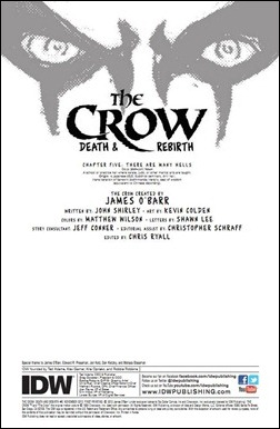 The Crow #5 Preview 1