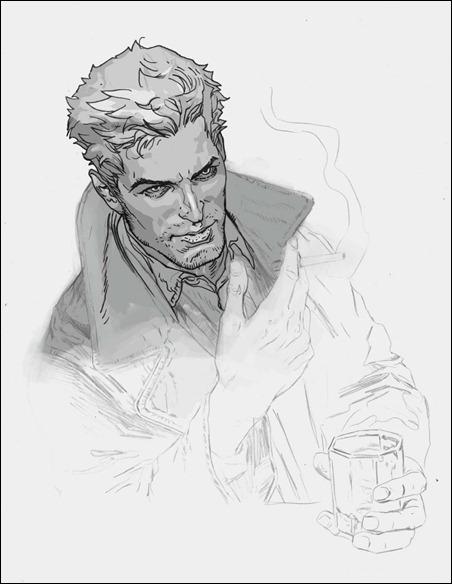 Constantine #1 concept art