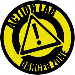 Action Lab: Danger Zone Logo