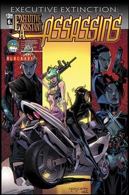 Executive Assistant: Assassins #6 Randolph Cover