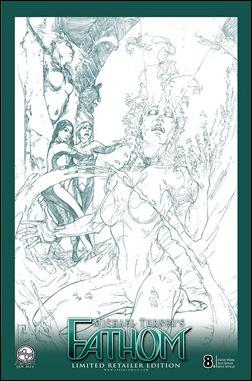 FATHOM (vol. 4) #8 Cover C - Alex Konat Retailer Incentive