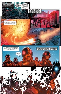 Harbinger #7 Preview 2
