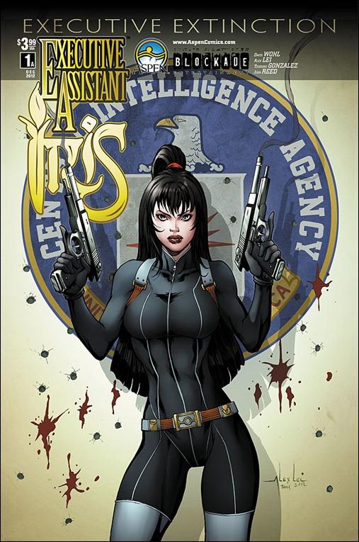 Executive Assistant: Iris (vol. 3) #1 Cover A - Alex Lei