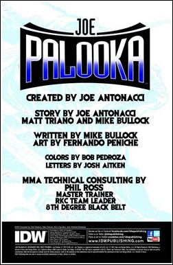 Joe Palooka #1 Preview 1