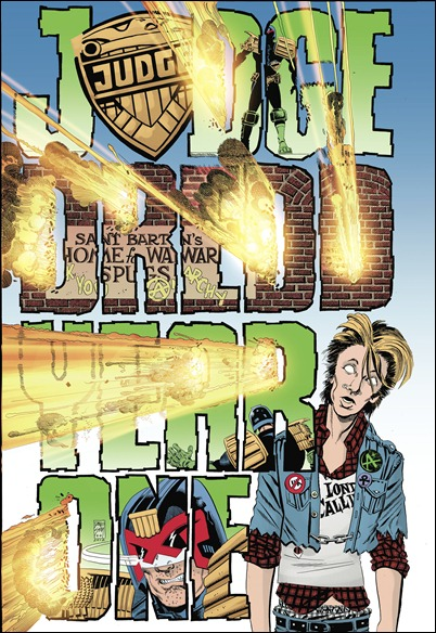 JUDGE DREDD: YEAR ONE #1 Cover - Dave Sim Variant