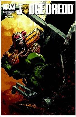 Judge Dredd #2 Cover