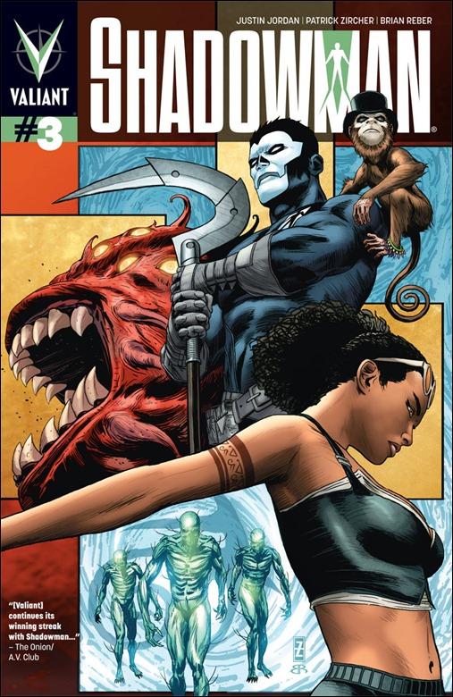 Shadowman #3 Cover