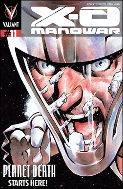 X-O Manowar #11 Cover - Nord Pullbox Variant