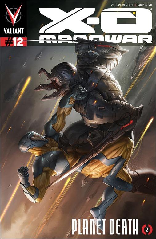 X-O Manowar #12 Cover - MARKO DJURDJEVIC Variant