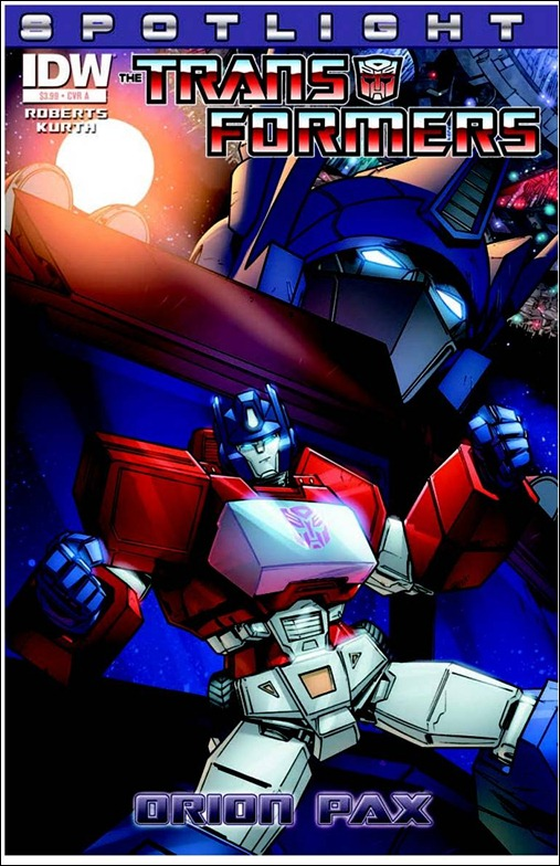 Transformers Spotlight: Orion Pax Cover