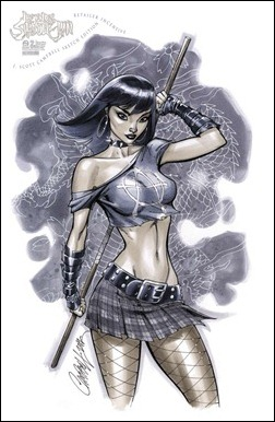 Legend of the Shadow Clan #2 - J. Scott Campbell cover