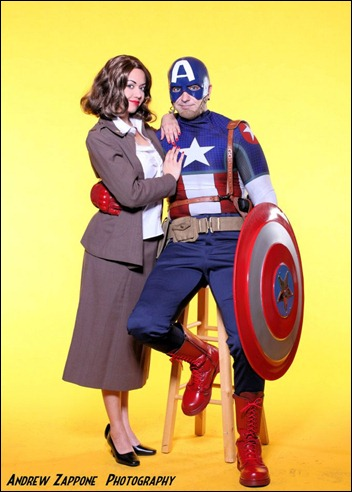 Victoria Cosplay as Peggy Carter