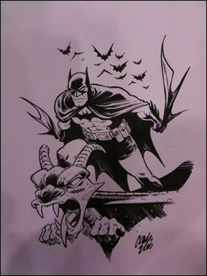 Cameron Stewart Batman original art