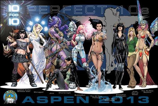 Aspen Perfect 10's Jam Poster