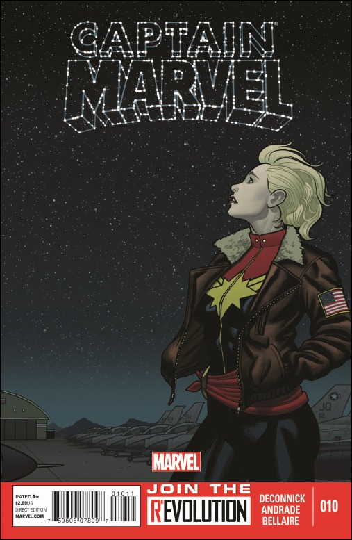Captain Marvel #10 Cover