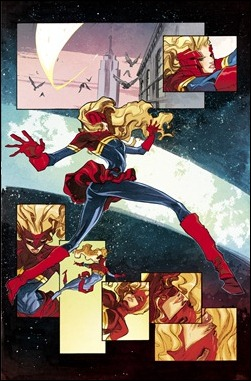 Captain Marvel #10 Preview 1