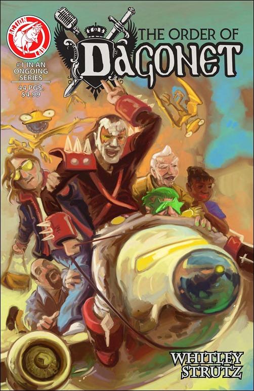 The Order of Dagonet #1 Cover