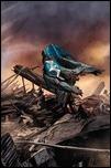 HARBINGER WARS #1 Cover - Zircher Variant