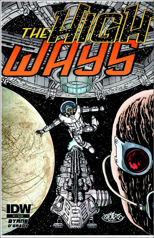 The High Ways #1 Cover