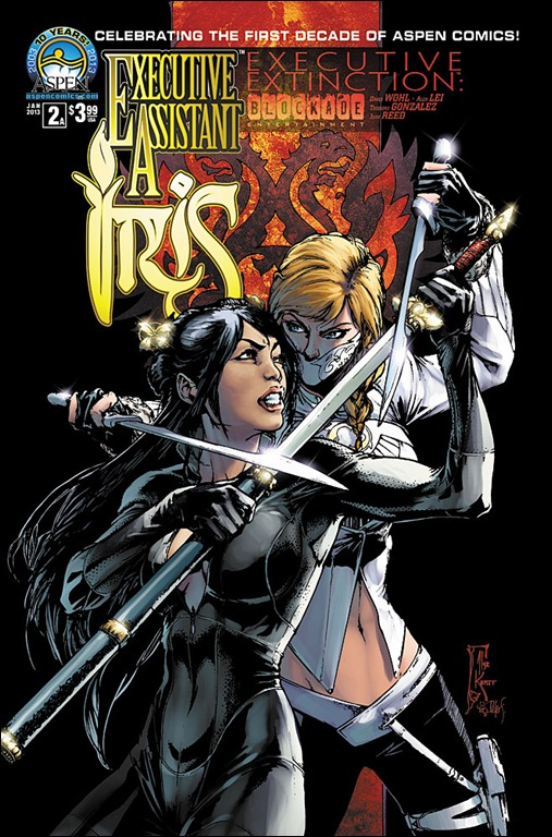Executive Assistant: Iris (vol 3) #2 Cover A