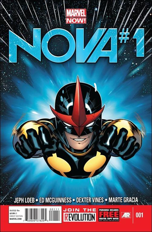Nova #1 Cover