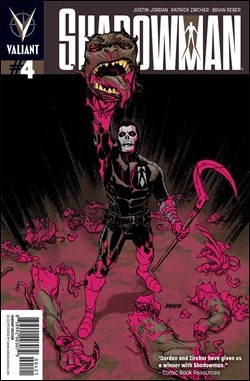 Shadowman #4 Cover Variant
