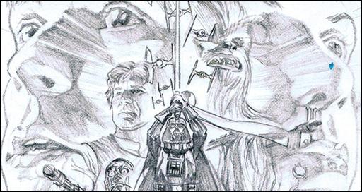 Star Wars #1 Pencil Variant