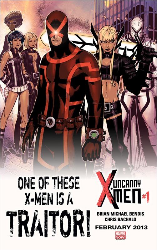 Uncanny X-Men #1 Teaser