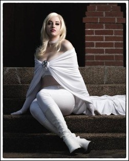 Callie Cosplay - Emma Frost