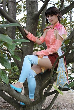 Monika Lee as Xiang Hua