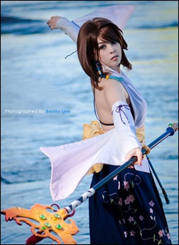 Monika Lee as Yuna