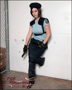 Monika Lee as Jill Valentine