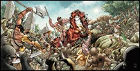 ARCHER & ARMSTRONG #0 Wraparound cover - Fowler