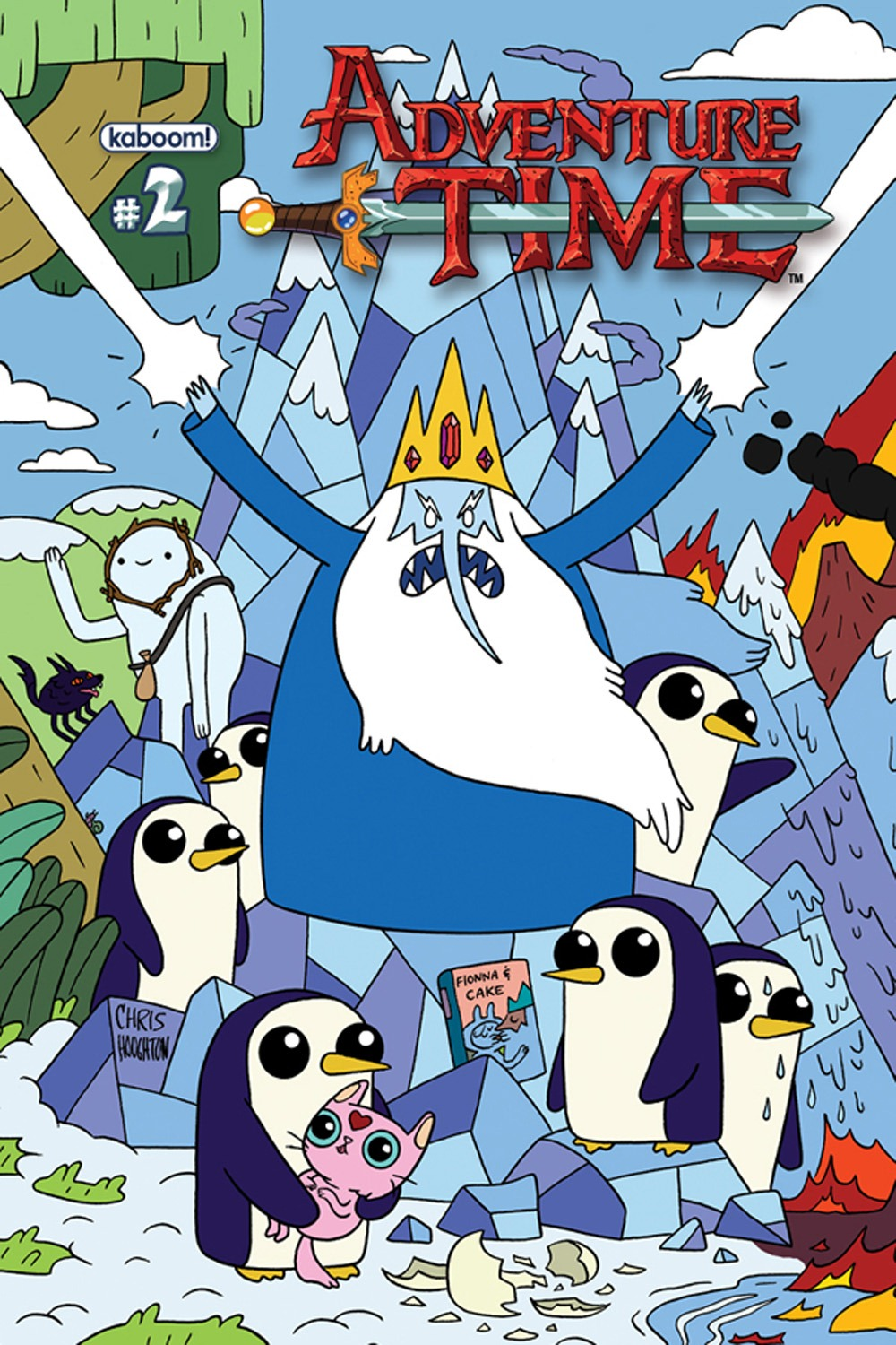 First 6 Issues of Adventure Time Reprinted With Connecting ...