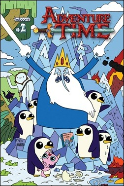 Adventure Time #2 Cover