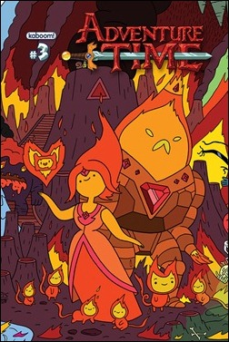 Adventure Time #3 Cover