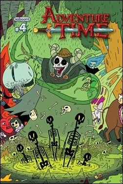 Adventure Time #4 Cover