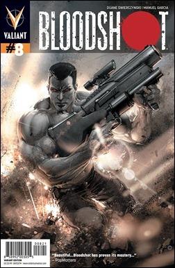 Bloodshot #8 Cover Variant - Crain